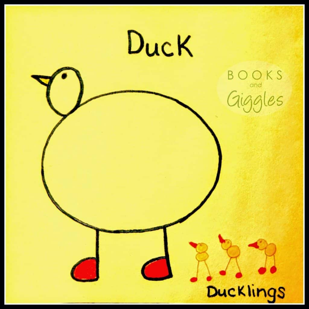 Books and Giggles: Simple tutorial showing how preschoolers can draw 3 different animals using 1 template