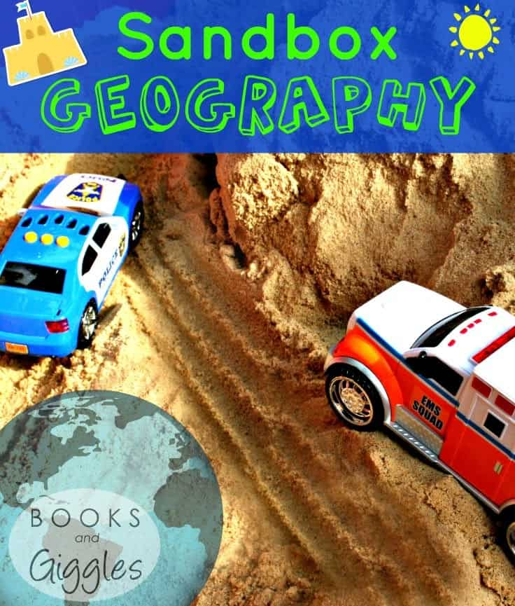 So much fun! Tips on teaching geography through active play.