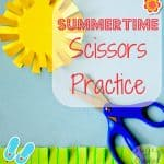 Summertime Scissors Practice