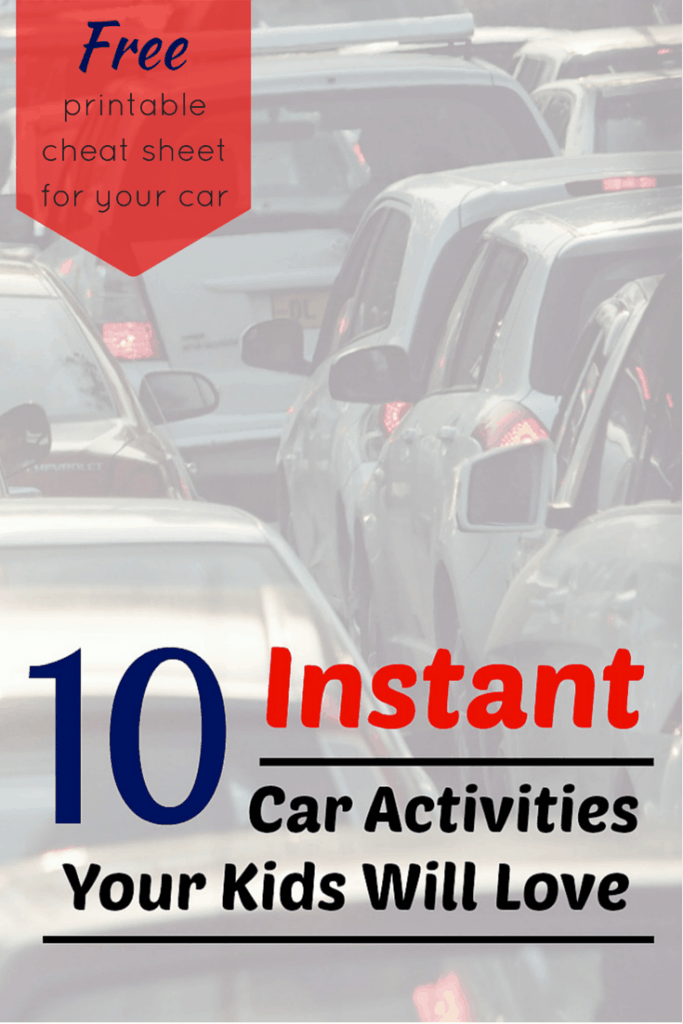 10 Instant Fun Car Trip Activities Your Kids Will Love