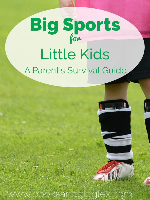 Sports for Kids - tips for parents of little kids just getting started in sports like soccer, t-ball, swim team and more
