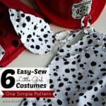 6 Easy-Sew Little Girl Costumes from One Simple Pattern
