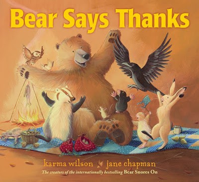 Bear Says Thanks book cover