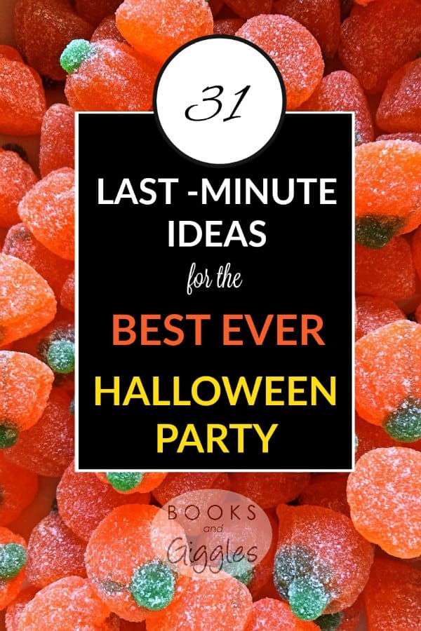 31 Last-Minute Ideas for the Best-Ever Halloween Party for Kids - activity, food, decoration and invitation ideas