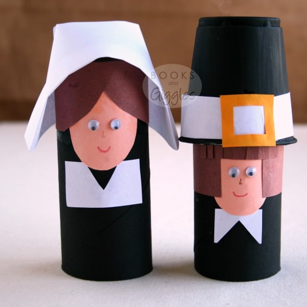Simple Toilet Paper Roll Pilgrims And A Story Of The First Thanksgiving