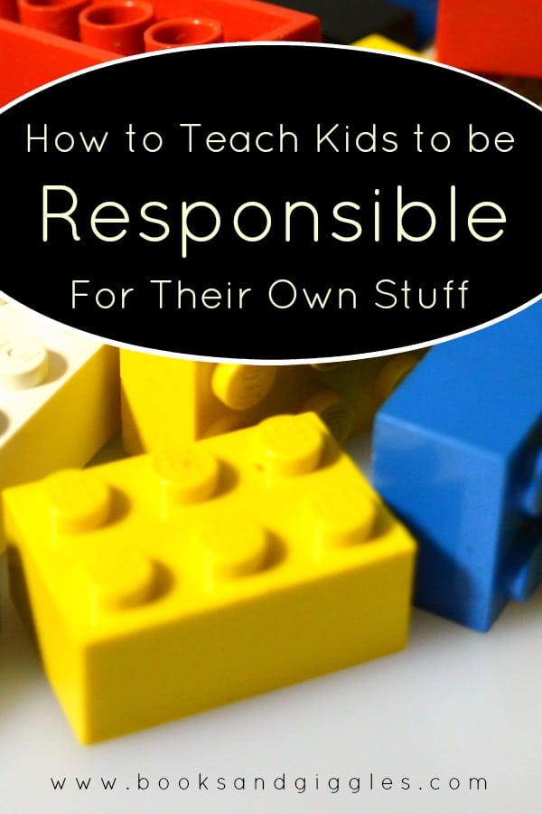 How to teach kids to be responsible for their own stuff. Help them learn to keep track of their own things, from important toys to loveys to sports gear.