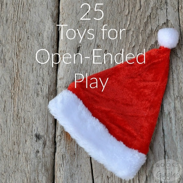 A gift guide to open-ended toys - this is the kind of toy that kids will play with for years. Lots of Christmas gift ideas for toddlers, preschoolers, and big kids.
