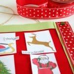 Print a Christmas Mini Word Wall