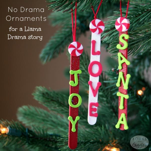 Popsicle stick ornaments and story about what's really important at Christmas. This would be a fun preschool or kindergarten craft. You just need popsicle sticks and a few other items.