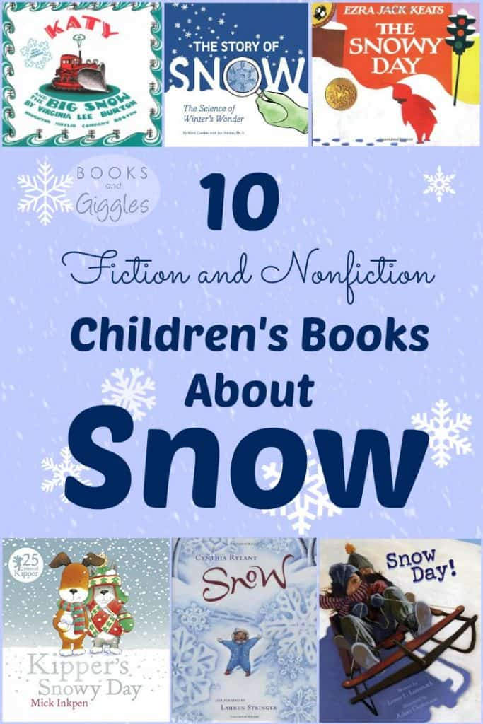 children's books about snow
