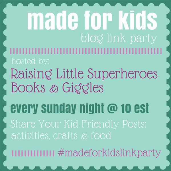 Made for Kids blog link party