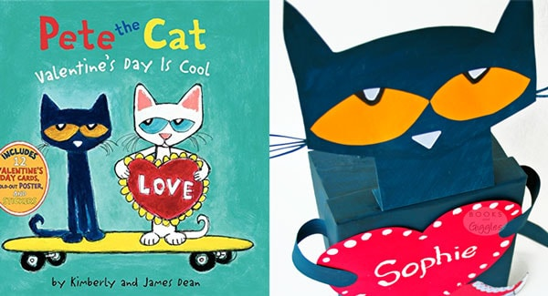 pete the cat valentine box by books and giggles - Cat Valentine Box