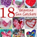 18 Stunning Valentine Suncatchers for Kids of All Ages