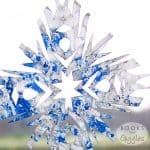 Winter Themed STEM Snowflake Craft