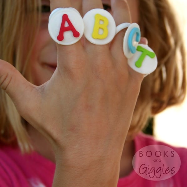A simple letter matching activity using foam letter stickers as a learning manipulative. Makes preschool learning fun!