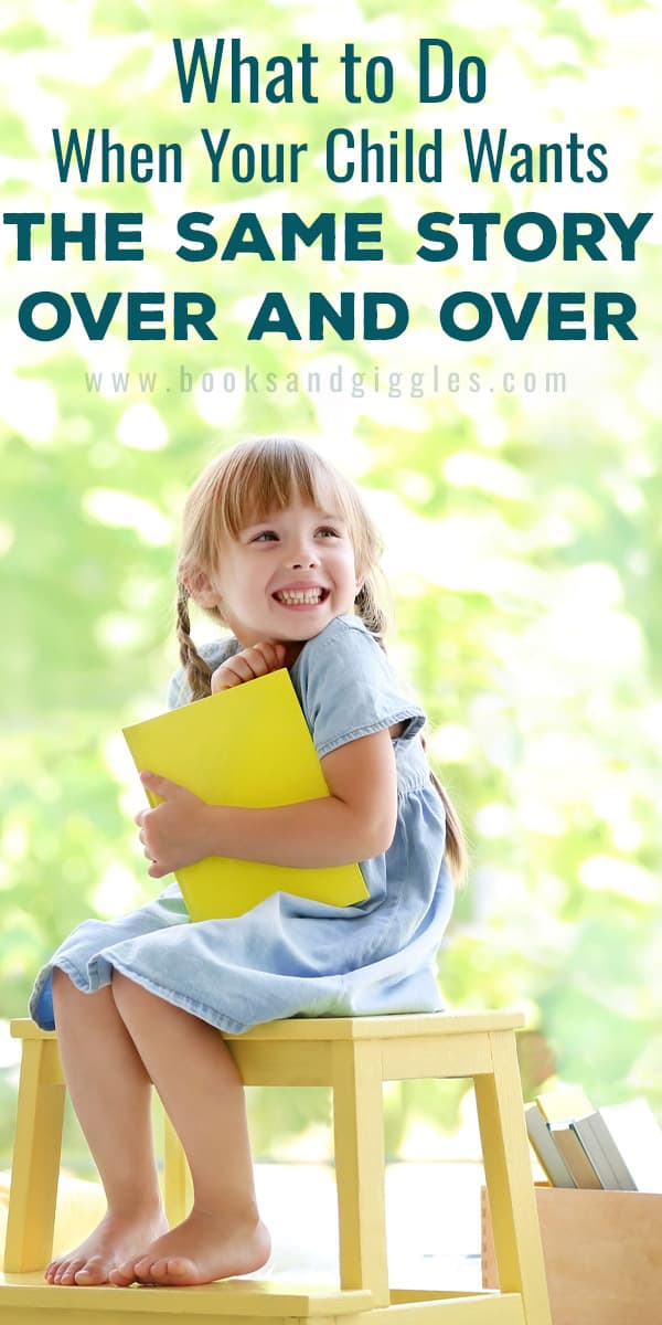 What to do when your child asks you to read aloud the same book over and over. Here are 4 solutions that can help.