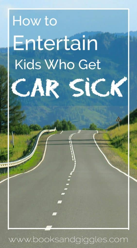 Road Trips | Carsick doesn't have to mean boring! These are some ways to make a screen free road trip fun for kids who tend to get motion sick.