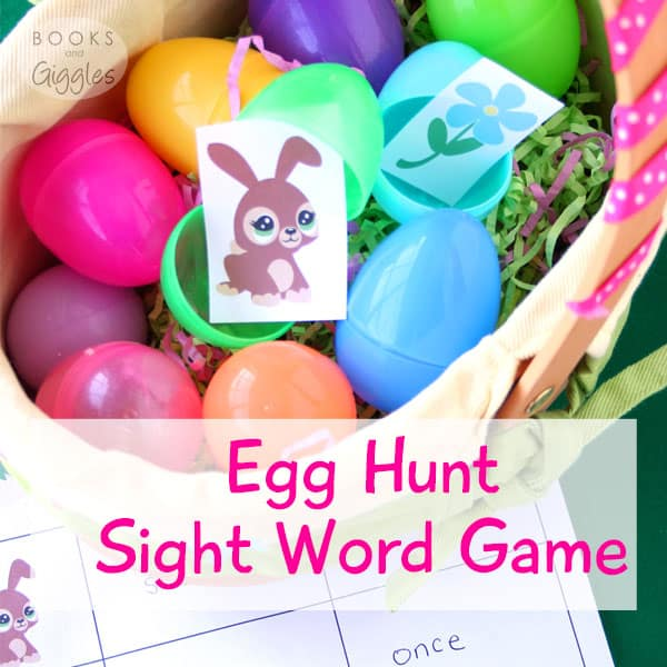 Fun Learning Games, Easter   5 egg hunt games for siblings to practice sight words, spelling words, or math facts at Easter time. Also includes a differentiated version for classrooms.