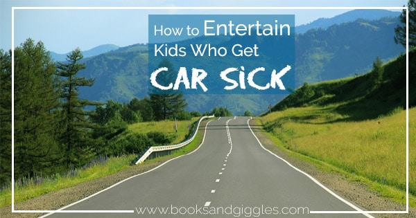 Car sick doesn't have to mean boring! These are some ways to make a screen free road trip fun for kids who tend to get motion sick.