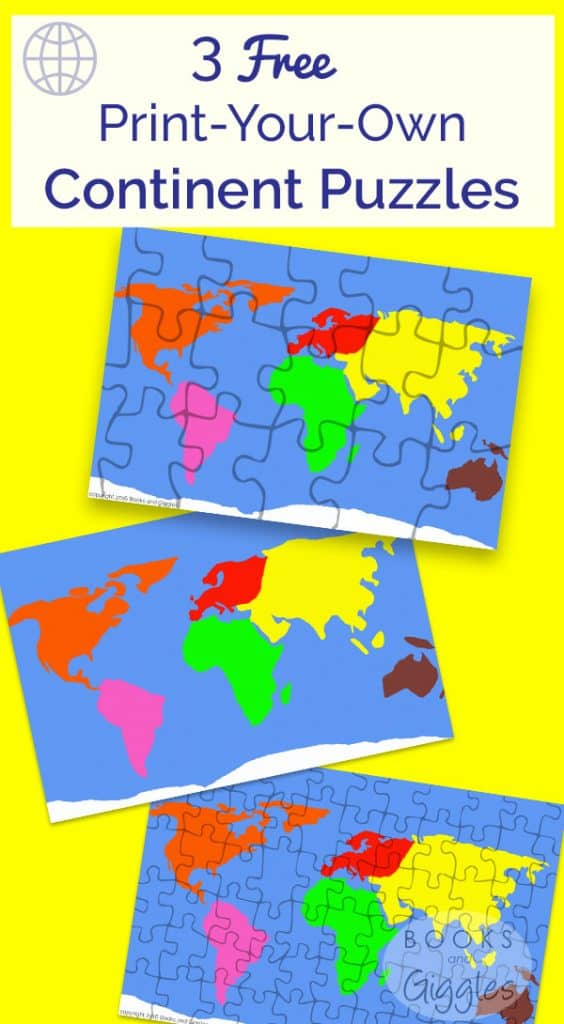 3 free puzzles to make learning the continents fun geography gumiabroncs Choice Image