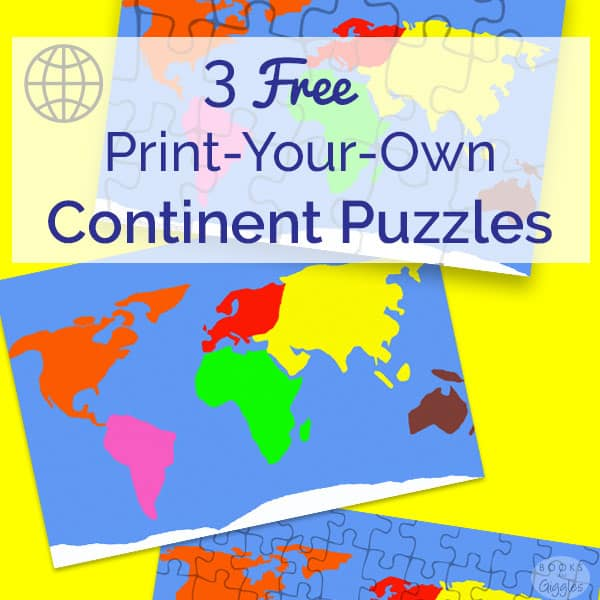 Free Puzzles To Make Learning The Continents Fun - Continents map for kids