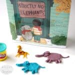 Play Dough Craft for Strictly No Elephants