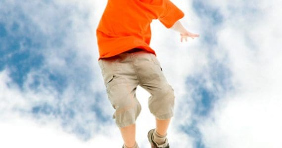 8 Kids' jumping games and activities for high-energy outdoor fun. Wear them out!