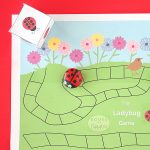 Ladybug Learning Game for Sight Words and more {Free Printable}