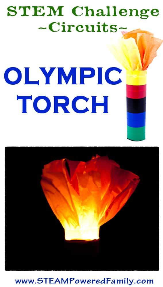 OlympicTorchSTEMChallengePin
