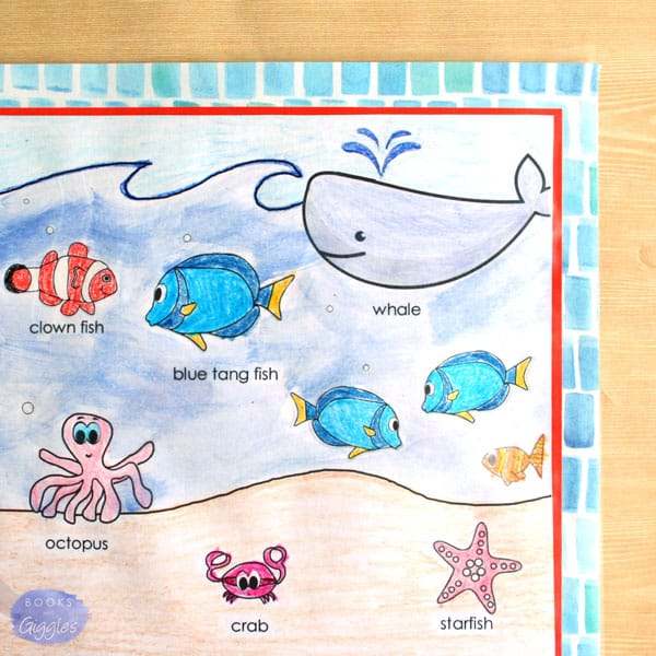 dory-nemo-coloring-placemat