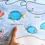 Finding Dory Inspired Learning Placemat