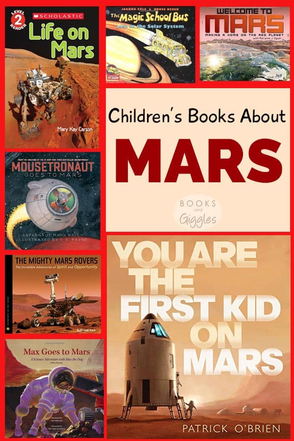 For kids eager to learn about each planet, here are 12 children's books about Mars. Includes fiction and nonfiction of varying reading levels.