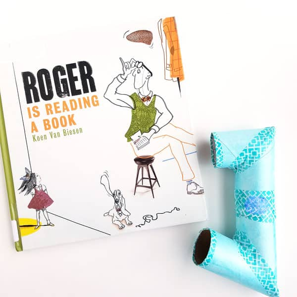 roger-is-reading-a-book-silent-reading-whisper-tube