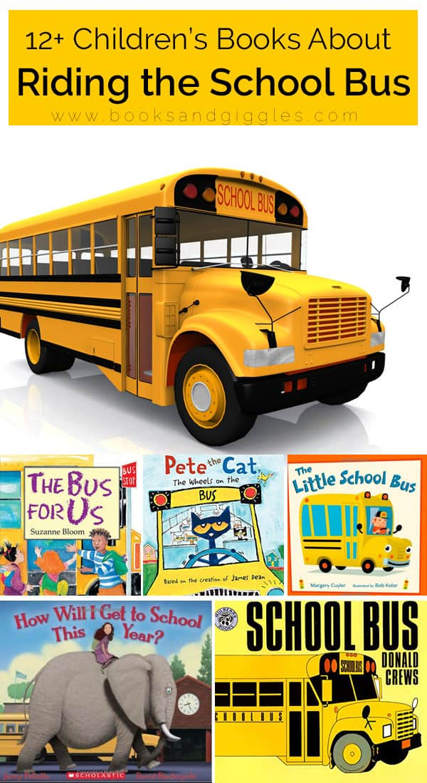 These children's books about riding the school bus will help kids understand what to expect.