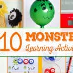 10 Monster Learning Activities for Kids