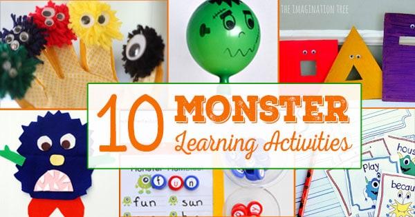 monster-learning-activities-for-preschool-kindergarten-elementary