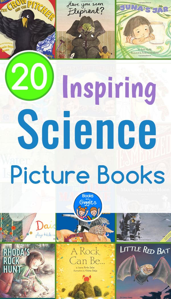 Inspiring science picture books - an annotated list of high quality fiction and narrative nonfiction stories on a wide range of science topics.