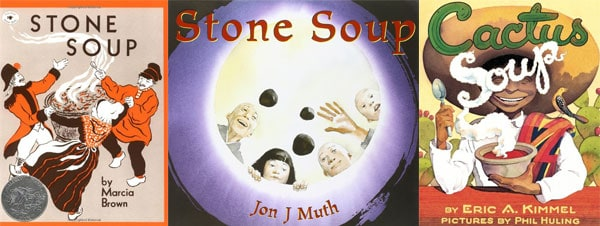 stone-soup-activity-collage-of-books