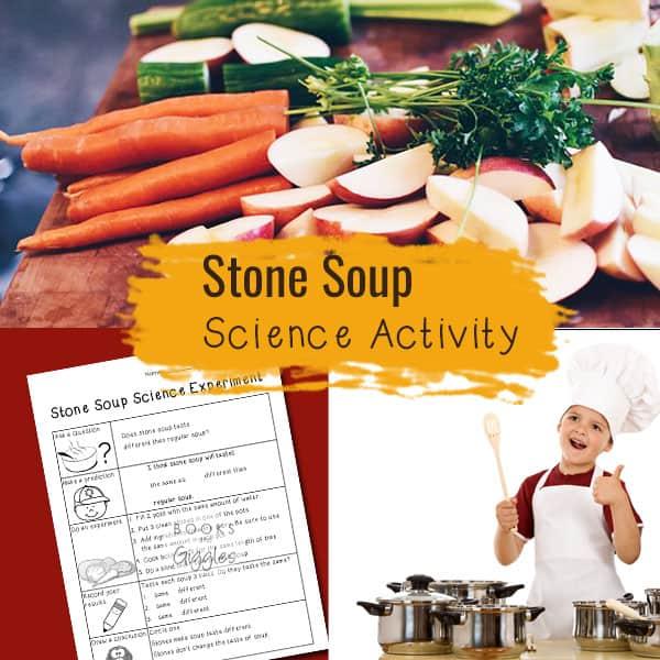 Stone Soup science activity - a story extension for the classic folktale. This would make a good Thanksgiving time science experiment on mixtures versus solutions.