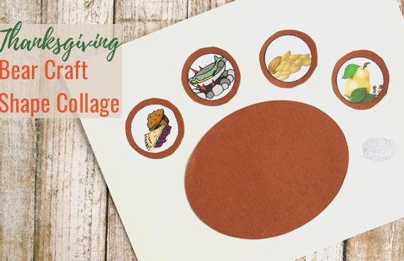 thanksgiving-bear-craft-shapes-circels-toddlers-preschoolers