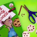"Story-Inspired Fine Motor ""Cookie"" Craft"