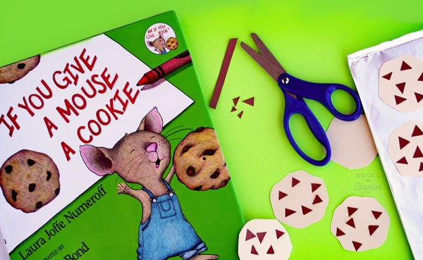 Fine motor skills book extension activity to go along with If You Give a Mouse a Cookie.