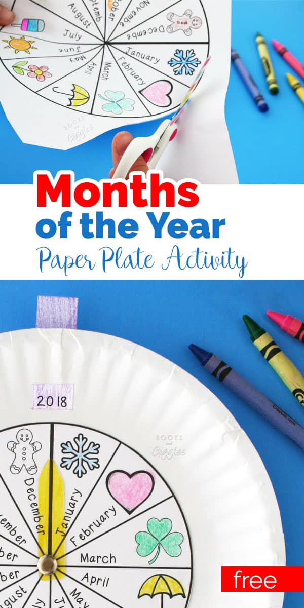 Teach the months of the year with this free printable activity