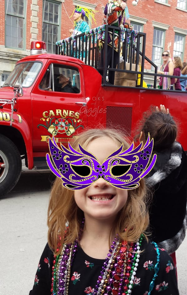 Mardi Gras Kids' activities