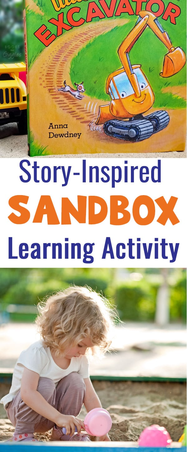 A summer story extension activity for the sandbox!