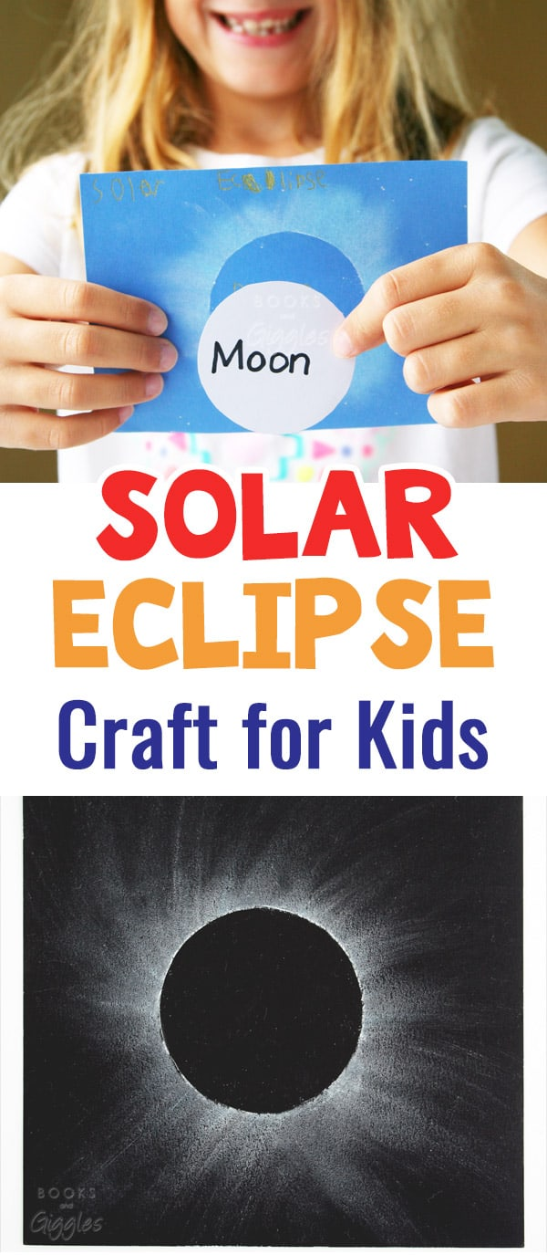 How To Make A Solar Eclipse Craft For Toddlers