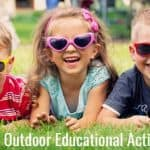 15+ Outrageously Fun Outdoor Educational Activities
