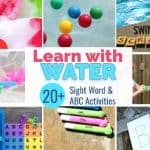20+ Pool & Water Learning Activities