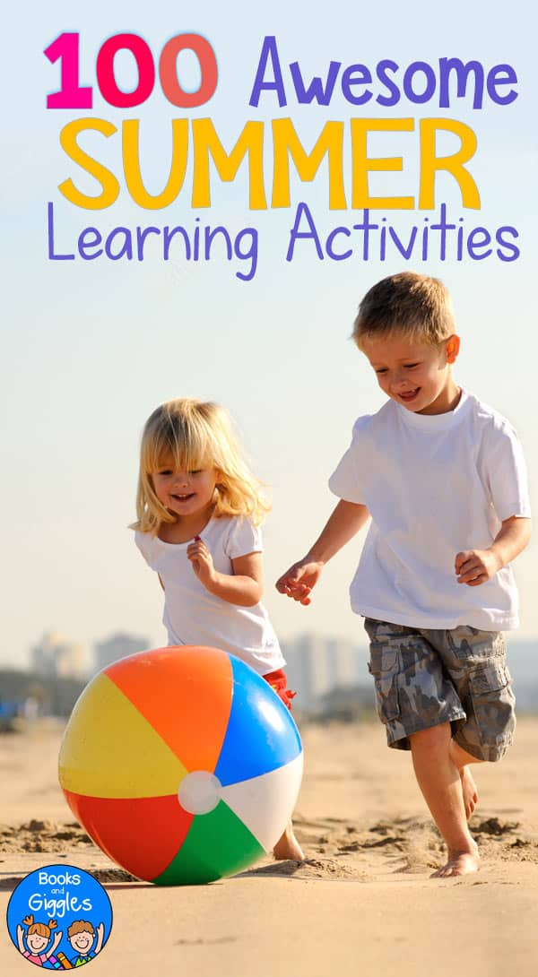 a list of summer educational activities for kids