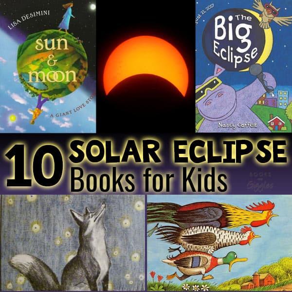 solar eclipse book list
